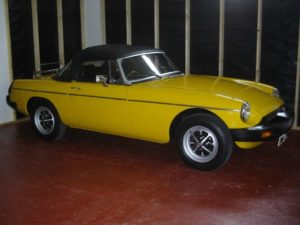 Restoration Account of a 1978 MGB Roadster Part 3 - MG Owners' Club Northern Ireland