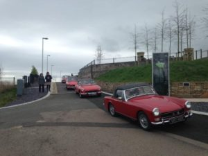 Dungannon Run April 2015 - MG Owners' Club Northern Ireland