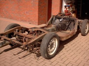 Restoration of an MGA Coupe - MG Owners' Club Northern Ireland
