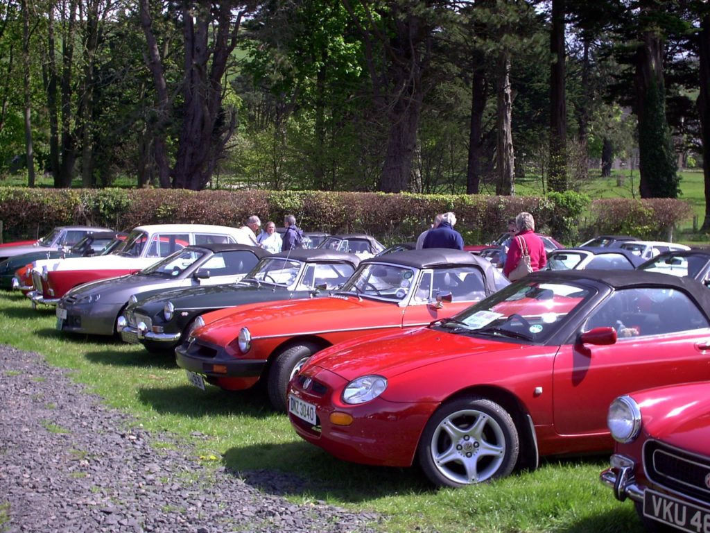 MG Owners' Club Northern Ireland Welcomes New Members - MGOCNI