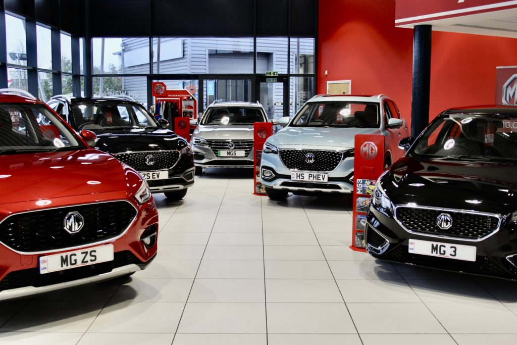 Sensational September sees MG Motor UK buck industry trends and set several new records