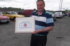 John-Moran-accepting-the-plaque-which-was-presented-to-him-at-the-Galway-weekend-sc.