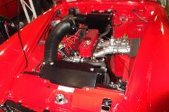 A-really-nice-MG-Midget-Engine-bay-at-RIAS-SC