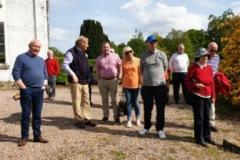 MGOCNI Omagh Visit May 2019 - everyone enjoying the great weather