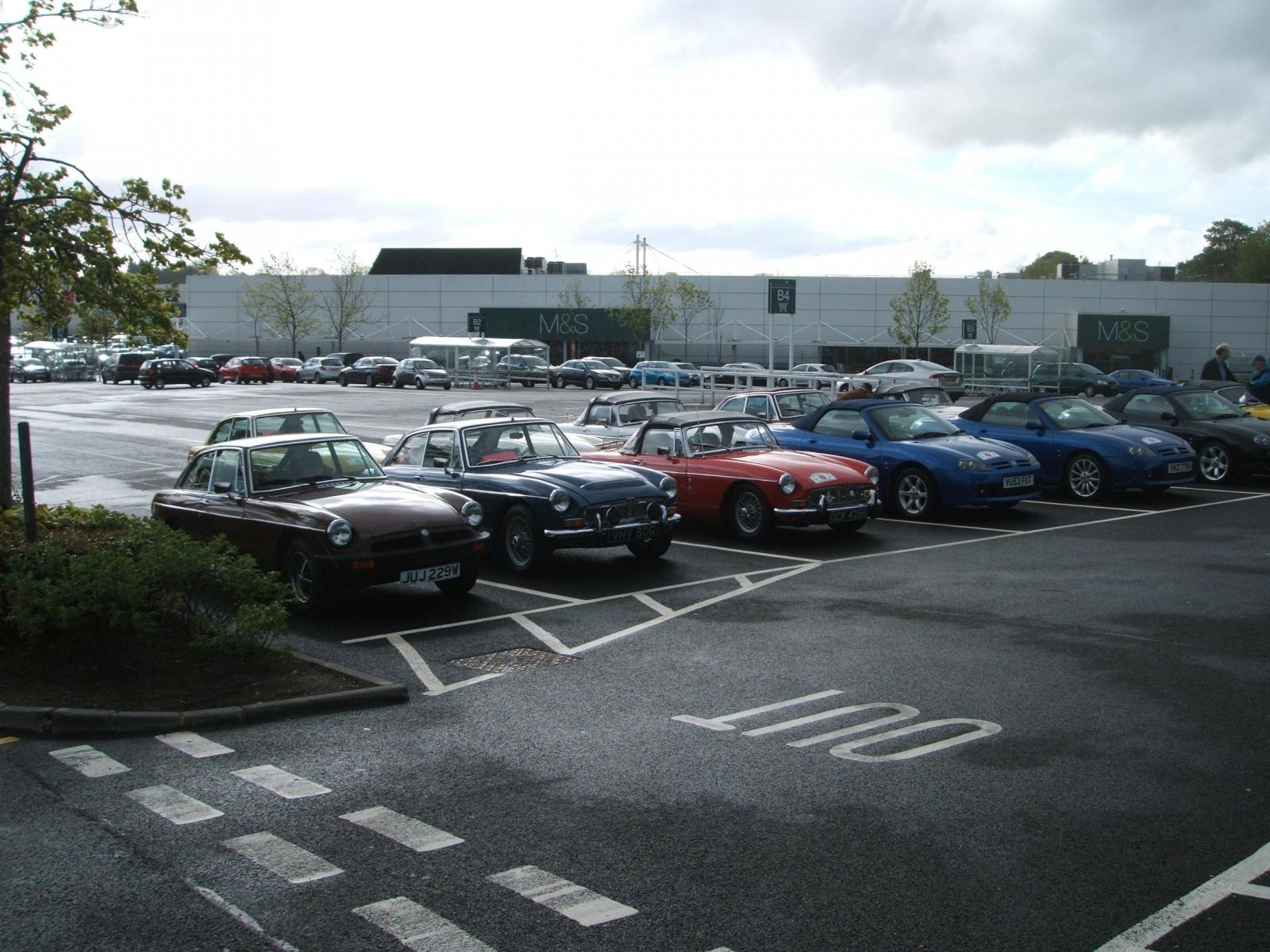 Members-cars-at-Sprucefield-ready-for-the-OFF-to-Wales-ac-1